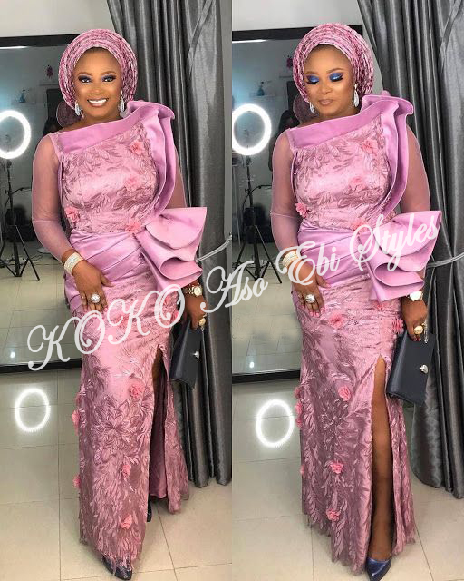 Five Latest Owanbe Ready Aso-ebi Styles That Are All Shades Of Chic And Stunning 3