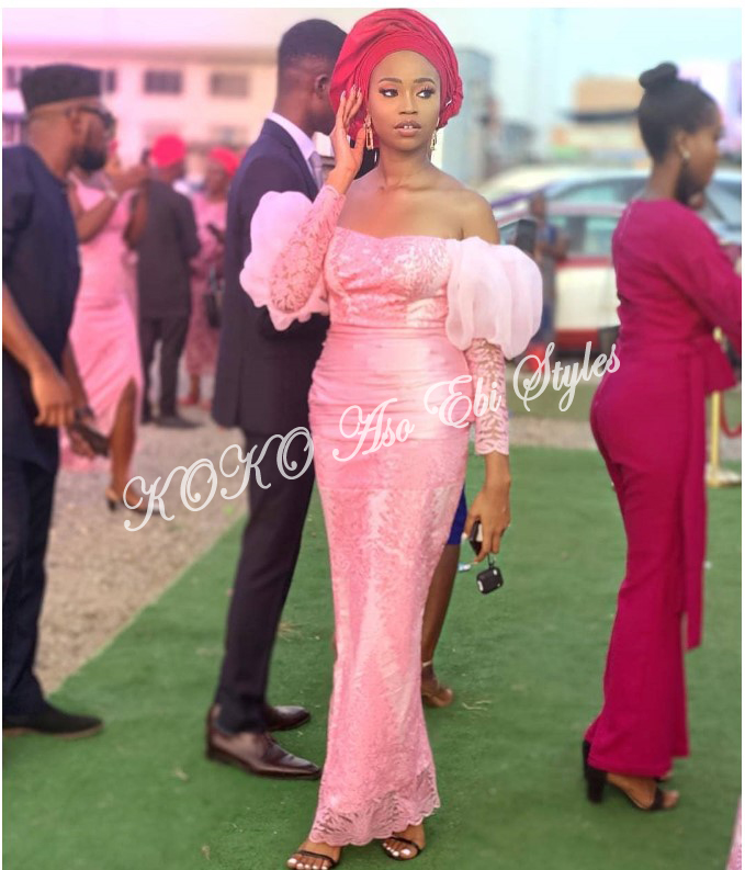 Five Aso-ebi Styles That Guarantee The Beautiful Slay You Have Been Looking For 2