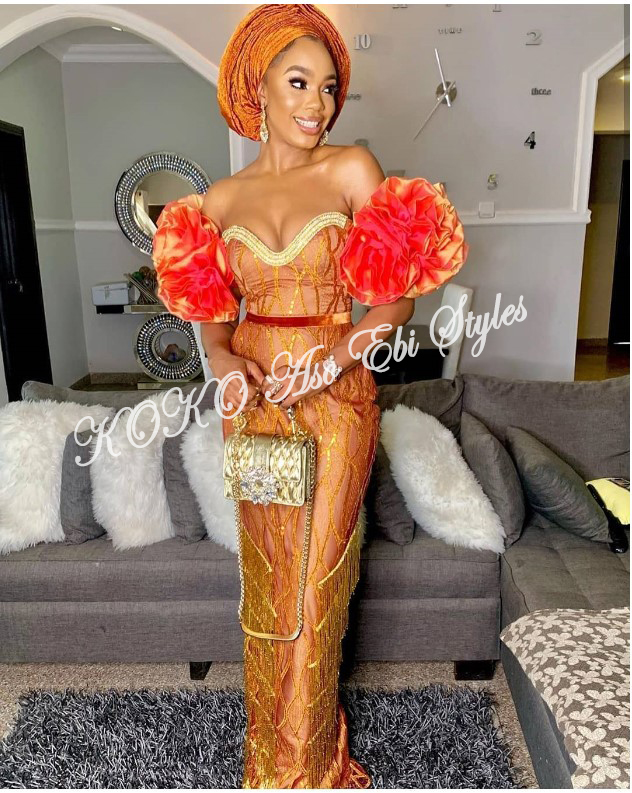 Keep It Classy, Chic And Gorgeous In These Five Aso-ebi Styles 4