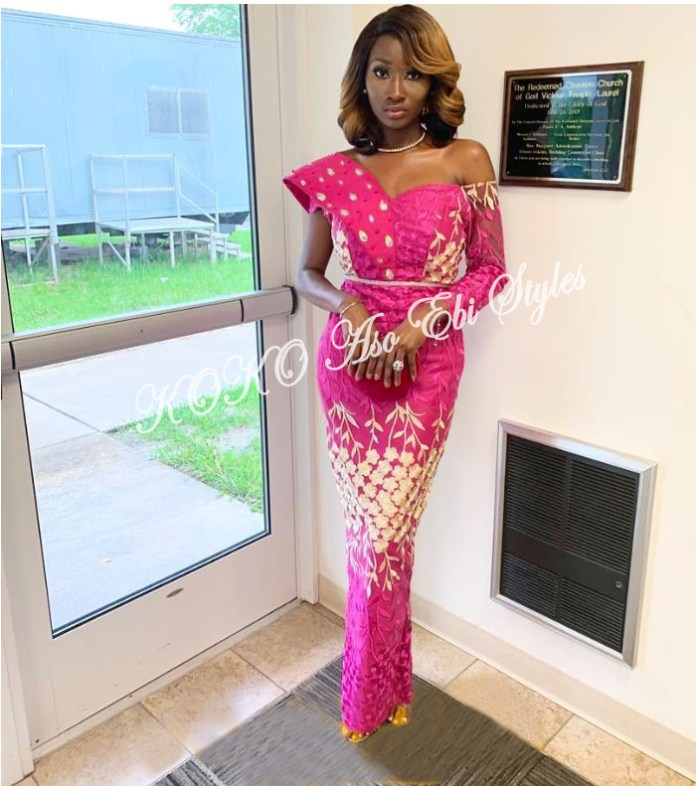 Beautiful! You Need To See These Five Extra Gorgeous And Stylish Aso-ebi Styles 5