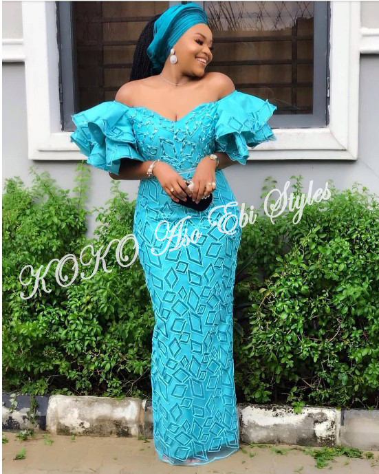 Channel Your Inner Stunning In These Five Extra Flattering Aso-ebi Styles 3