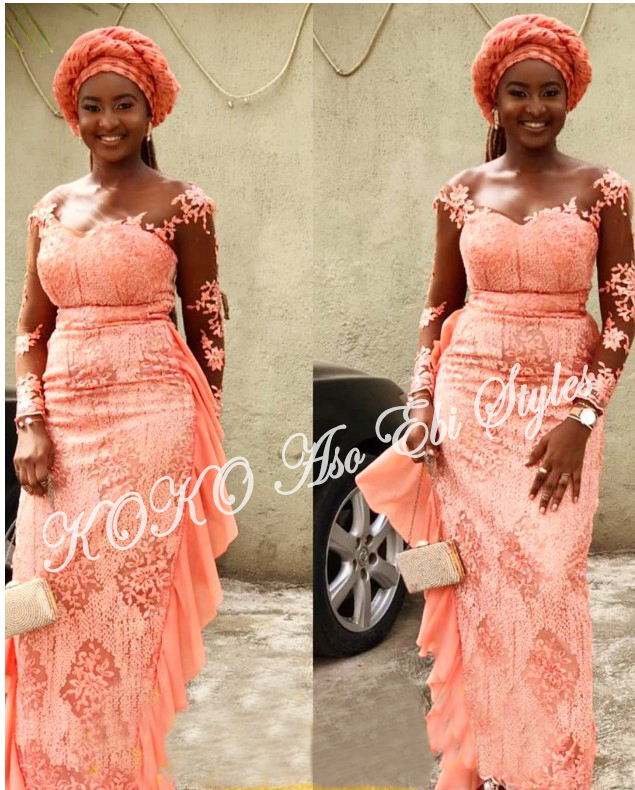 Beautiful! You Need To See These Five Extra Gorgeous And Stylish Aso-ebi Styles 4