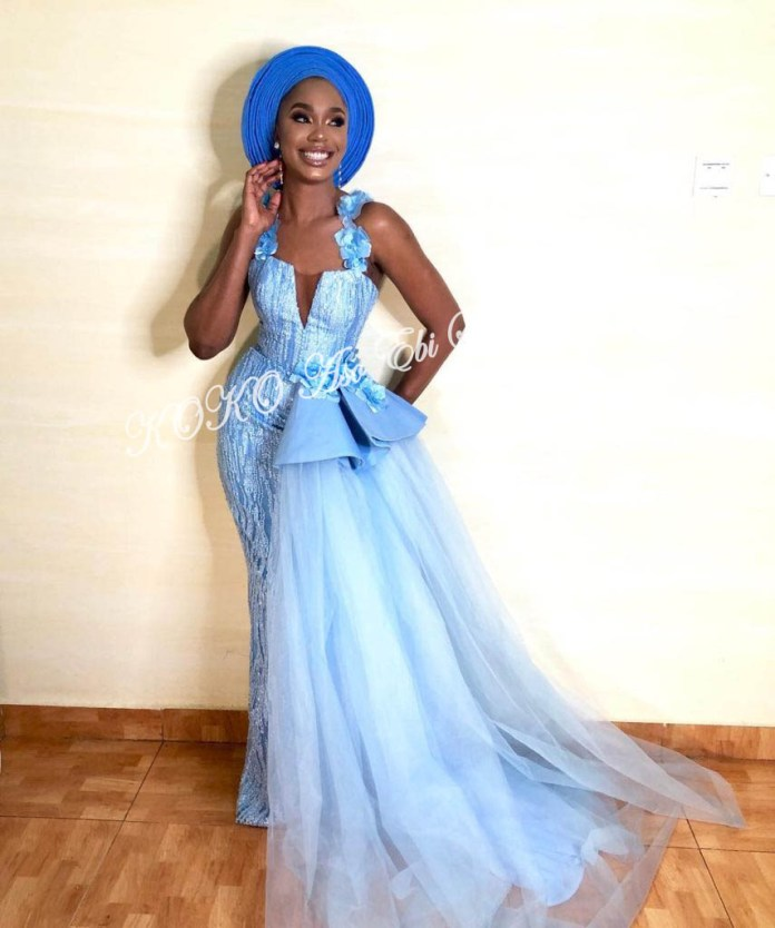 It's All About The Drapes! Five Super Stylish Aso-ebi Styles With Fantastic Drapes 5