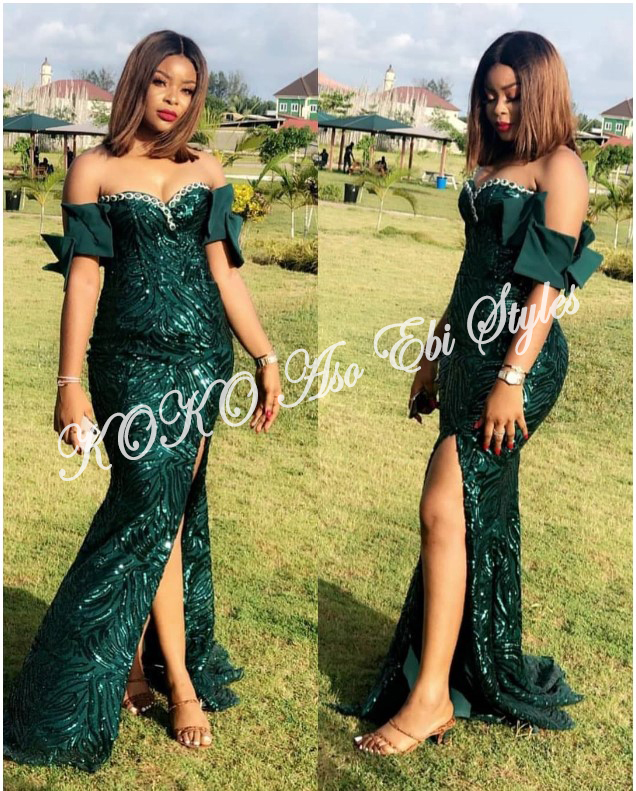 Beautiful! You Need To See These Five Extra Gorgeous And Stylish Aso-ebi Styles 2