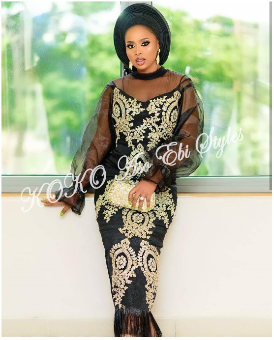 Channel Your Inner Stunning In These Five Extra Flattering Aso-ebi Styles 2