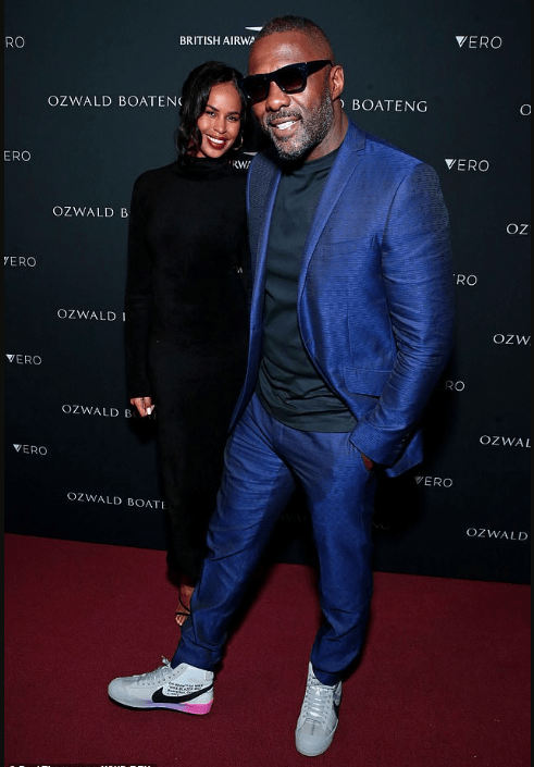 See Moment Idris Elba And Sabrina Dhowre Stepped Out For The First Time As Husband And Wife 1