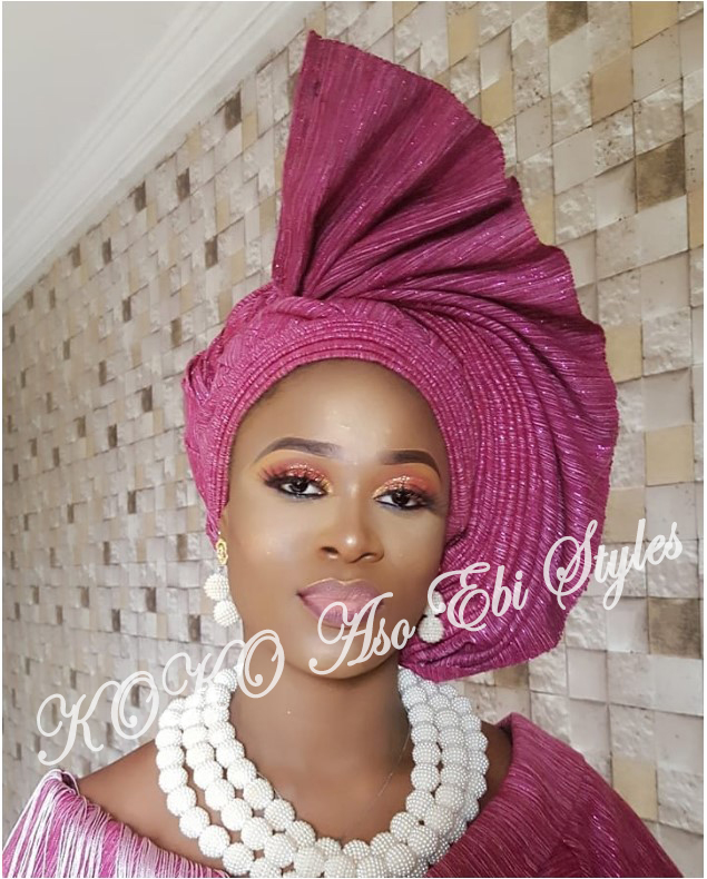 Gele Frenzy: Five Gele Styles That Would Vamp Up Your Owanbe Look 1