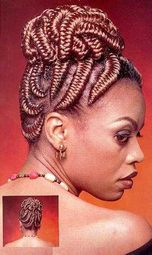TBT: 5 Iconic Nigerian Hairstyles That Were In Vogue In The '90s 4