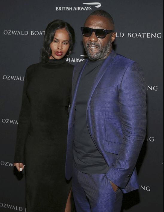 See Moment Idris Elba And Sabrina Dhowre Stepped Out For The First Time As Husband And Wife 2