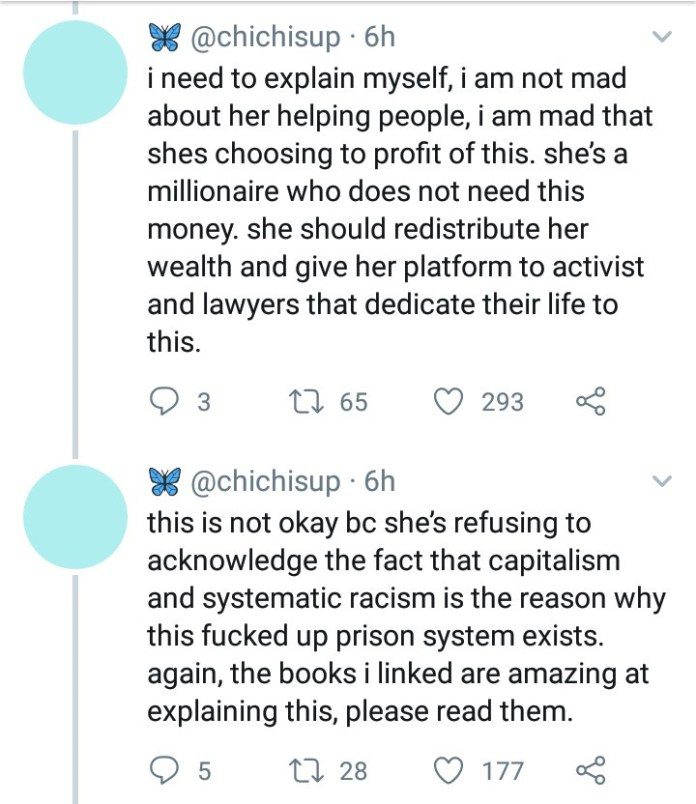 Social Media Users Come For Kim K Over Trying To 'Profit' From Her Criminal Justice Reform 3