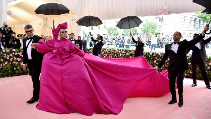 #MetGaga! Lady Gaga Steals The Show With Four Daring Outfits On 2019 Met Gala Red Carpet 2
