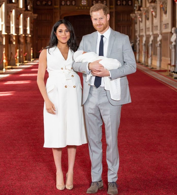 Royal Baby Archie Could Become US President - Astrologer 1