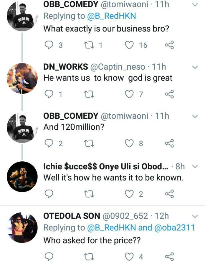 Twitter Users Slam Singer B-red For Flaunting His Newly Acquired N120m Crib 2