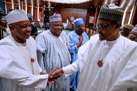 'Be Ready To Work And Lift 100milion Nigerians Out Of Poverty',Buhari To Ministers-Designate 1
