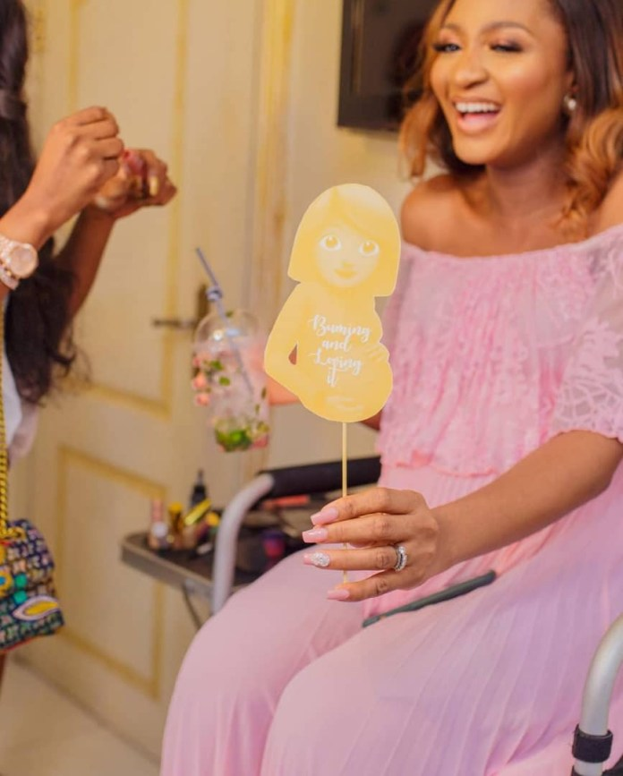 The Insider: Stunning Photos From Ex- Beauty Queen Powede Eniola Awujo's Surprise Baby Shower 3