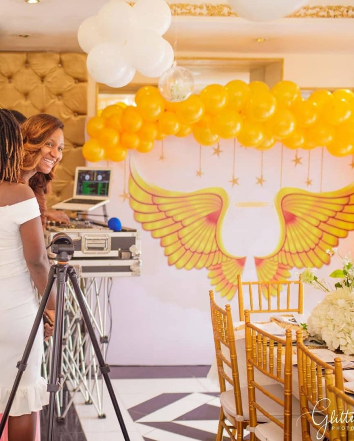 The Insider: Stunning Photos From Ex- Beauty Queen Powede Eniola Awujo's Surprise Baby Shower 7
