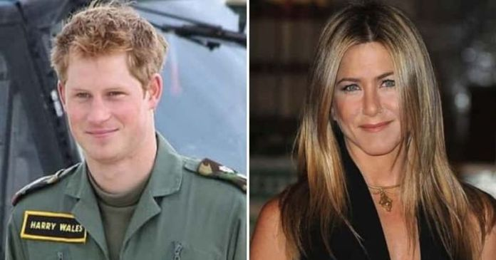 Prince Harry Was Infatuated And Sent Emojis To Jennifer Aniston To Woo Her 1