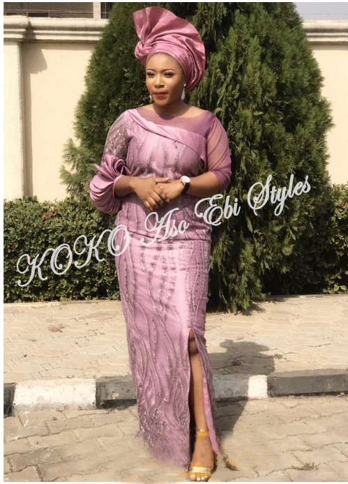 You Need To See These Five Exceptional And Highly Stylish Aso-ebi Styles 1