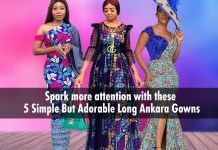 Ankara Styles: 5 Simple Yet Adorable Long Ankara Gowns