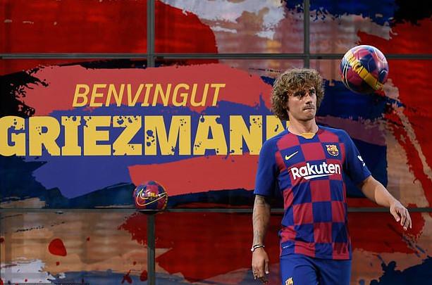 Finally! Barcelona Unveils Antoine Griezmann 2