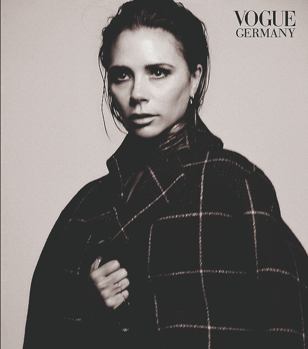 Victoria Beckham Covers Vogue Germany In A Risque Topless Shoot 1
