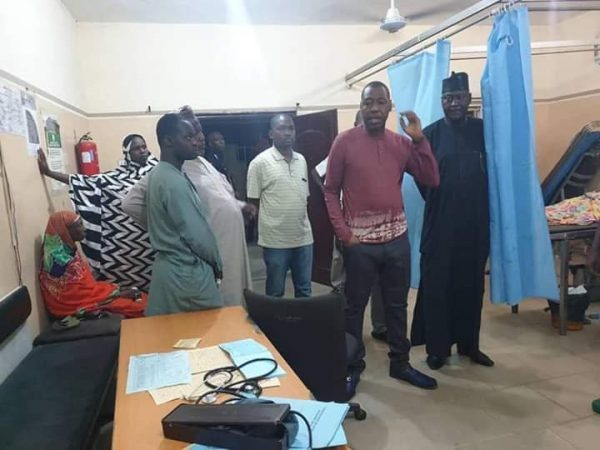 Governor Zulum Visits 2 Hospitals Impromptu, What He Found Out Is Shocking