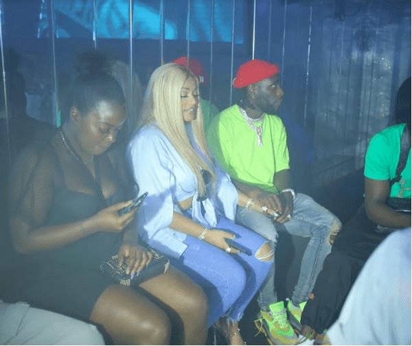 Stefflon Don Is All Lovey-Dovey With Burna Boy As She Couldn't Take Her Eyes Off Him At His Birthday Bash 7