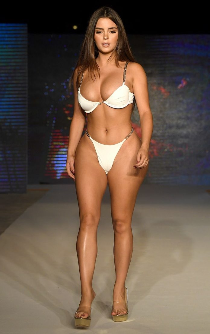 Demi Rose Flaunts Her Sizzling Curves In 3 Daring Swimwear At Miami Swim Week 5