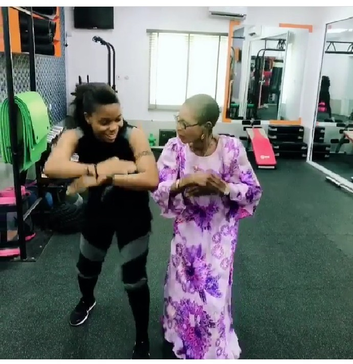 She's Got Moves! Dancer Kaffy's 82-year-old Mother Show Off Her Steps And It's Sleek 2