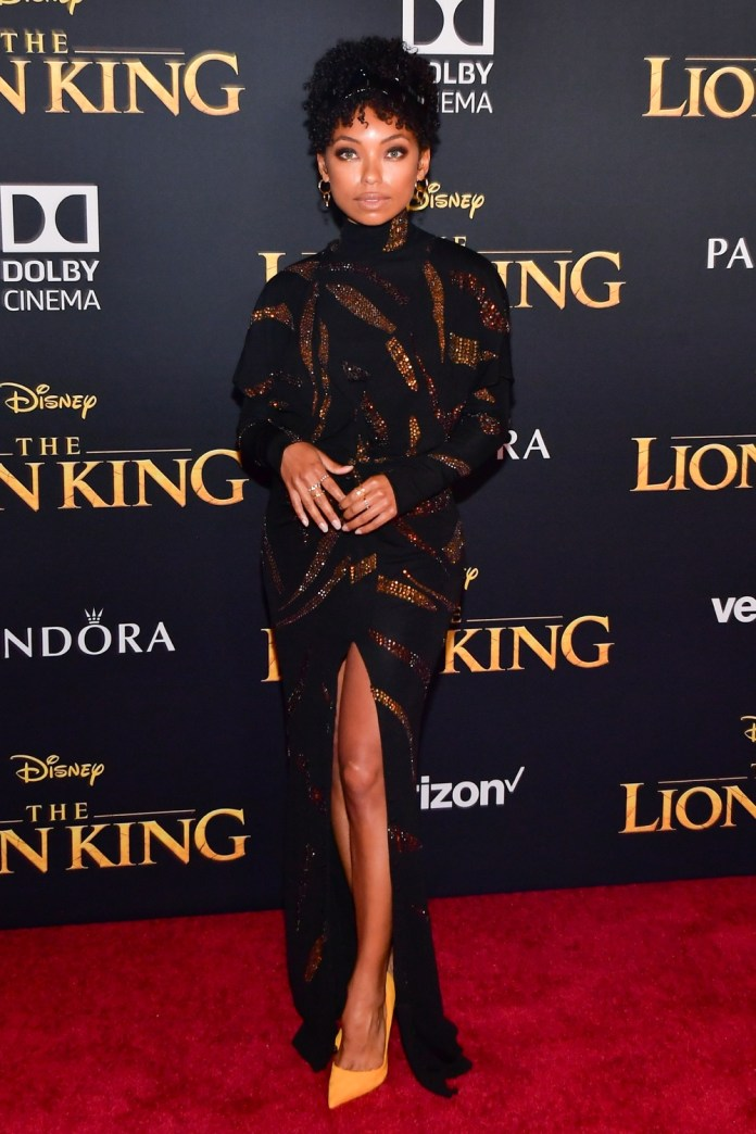 Check Out All The Glamorous Looks From The World Premiere Of The Lion King 8