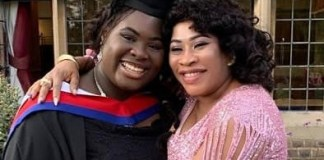 Seun Olagunju Dazzles In Pink Dress As She Celebrates Graduating Daughter
