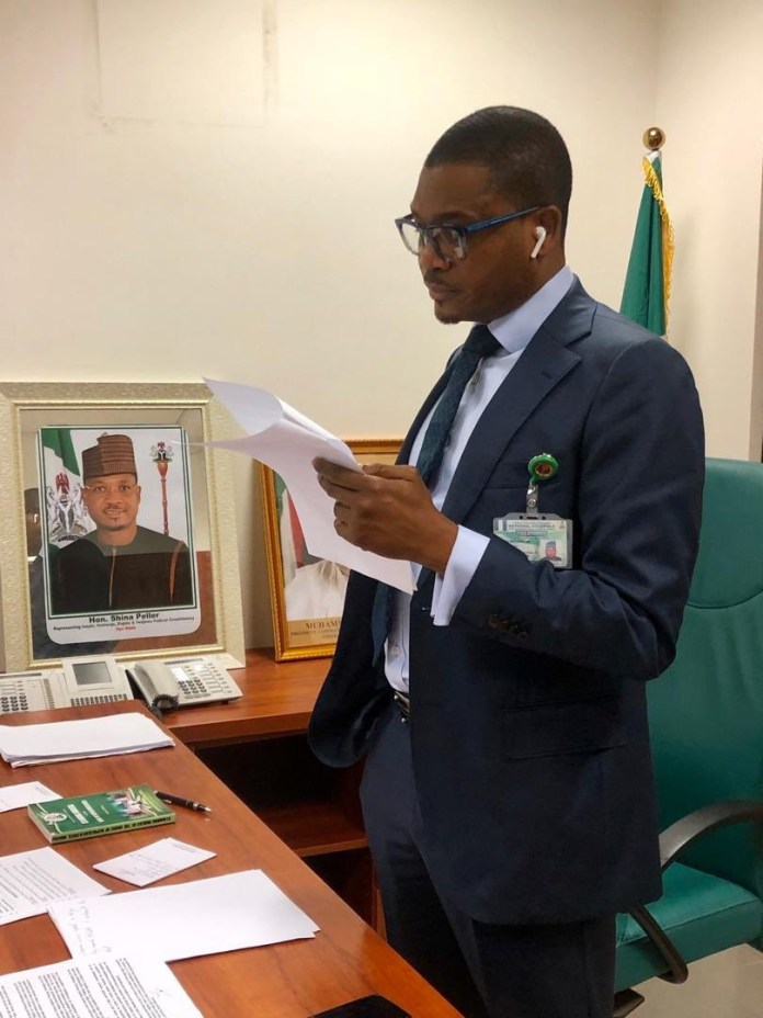 Check Out Photos Of Quilox Boss Shina Peller In His Political Office 1