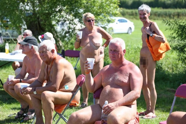 Nudefest 2019: Hundred Goes Naked As They Attended Biggest Naturist Event In Britain 3