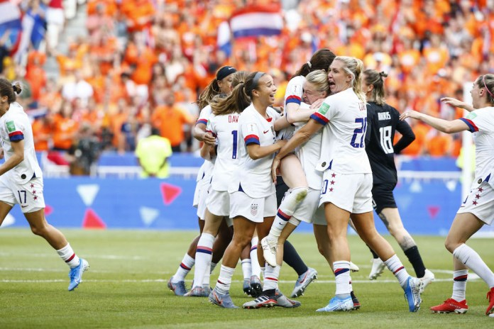 France 2019: USA Defeats Netherlands 2-0 To Win Its Record 4th Women World Cup 2