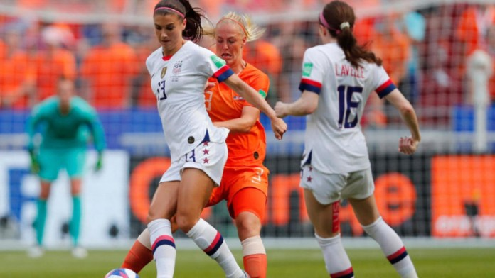 France 2019: USA Defeats Netherlands 2-0 To Win Its Record 4th Women World Cup 1
