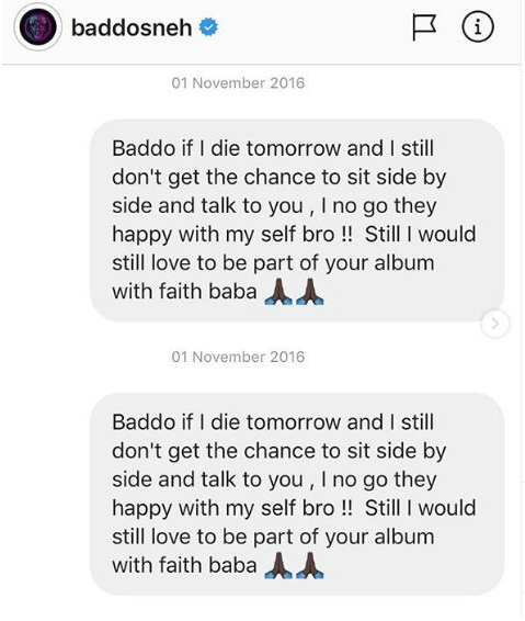 Bromance! Zlatan Shares Throwback DMs He Sent Olamide Begging For A Chance To 'Blow' 2