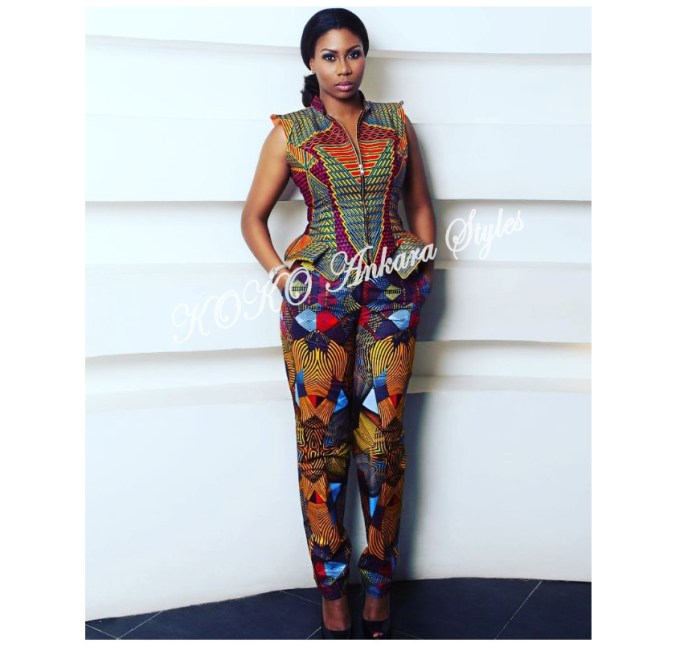 Get In The Glam Zone With These Five Printastic Ankara Designs 3