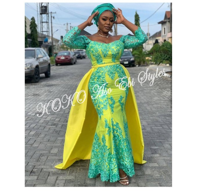 Slay Beautifully In These 5 Amazing And Ultra Chic Aso-ebi Designs For Your Next Owanbe 4