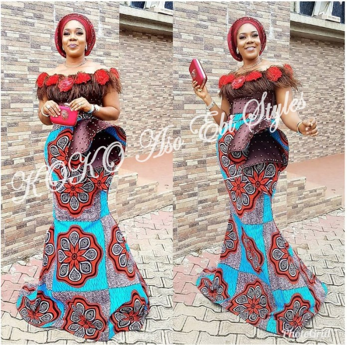 Five Lovely And Trendy Aso-ebi Styles To Slay As A KOKOnista 1