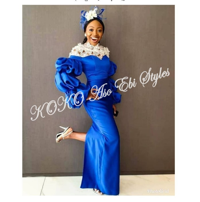Five Latest And Gorgeous Aso-ebi Styles For The Month Of July 2