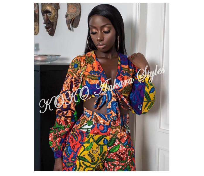 It's Hot! Here Are The Five Gorg Ankara Crop Tops You Need This Summer 3