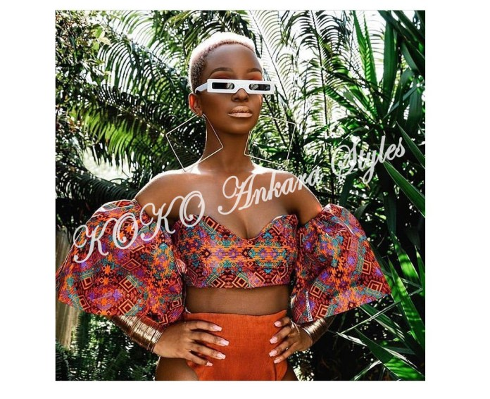 It's Hot! Here Are The Five Gorg Ankara Crop Tops You Need This Summer 4
