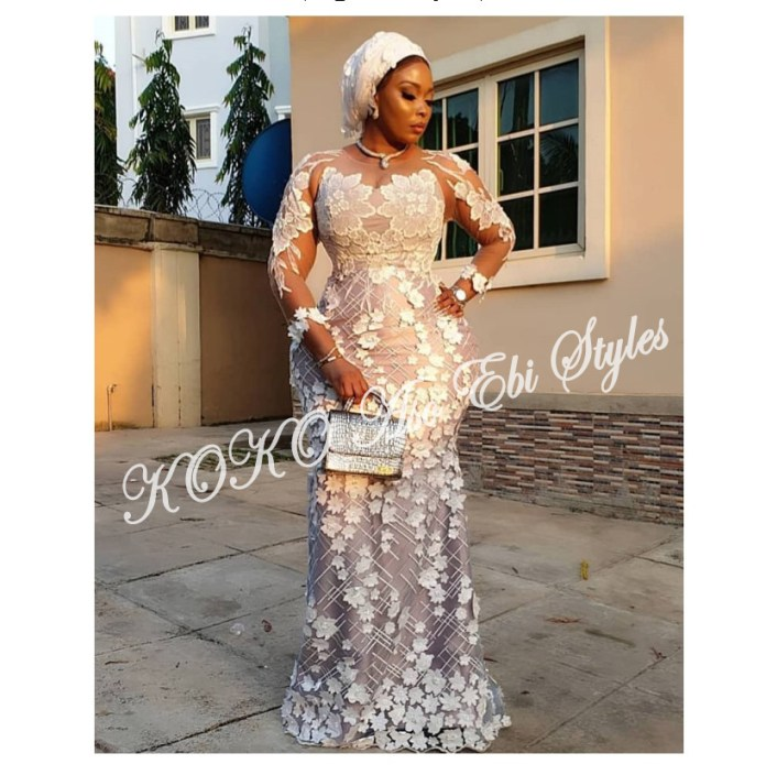 Five Latest And Gorgeous Aso-ebi Styles For The Month Of July 3