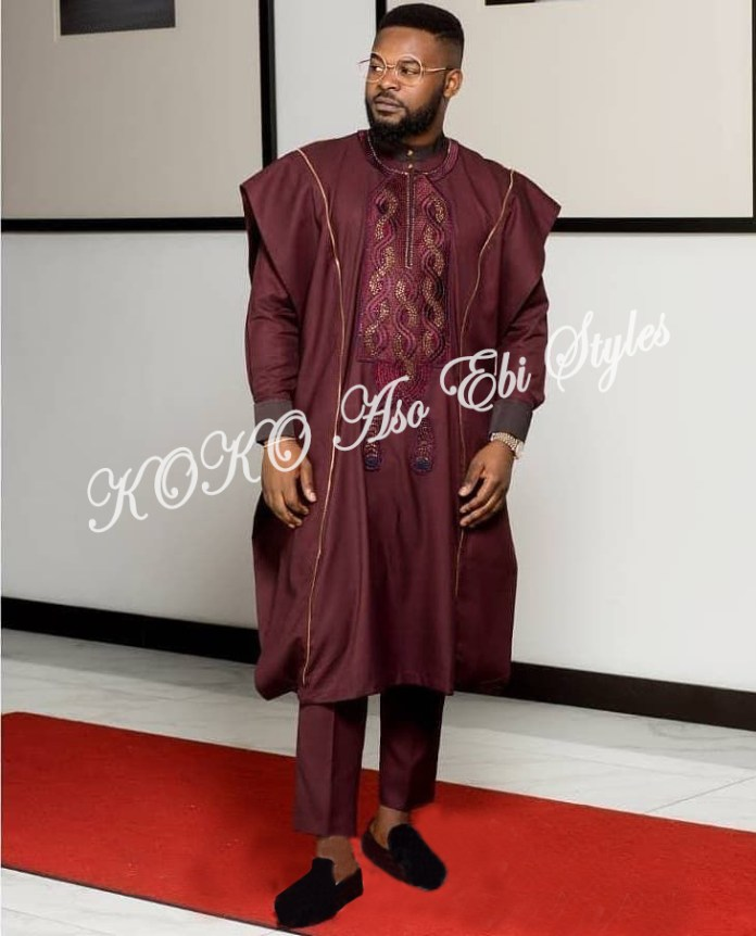 Tailor Made And Owanbe Ready! Five Aso-ebi Designs Perfect For The Male Folks 1