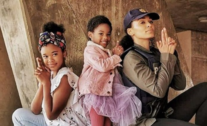 Awwn! ! Pearl Thusi Releases Emotions Arousing Pictures With Her Kids