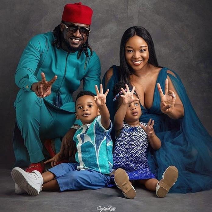 KOKO Junior: Paul Okoye Shares Cute Photos Of Himself And His Twins Nadia and Nathan 2