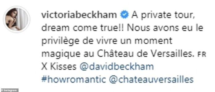 Victoria Beckham Tours Palace Of Versailles In A White Midi-dress As She Celebrates 20 Years Wedding Anniversary With Hubby, David Beckham 4