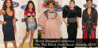 Worst Dressed Celebrities At The Black Girls Rock! Awards 2019