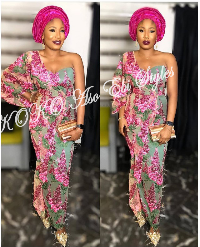 The Hottest And Glamorous Aso-ebi Styles Are Here! These 5 Designs Are  🔥🔥🔥 4
