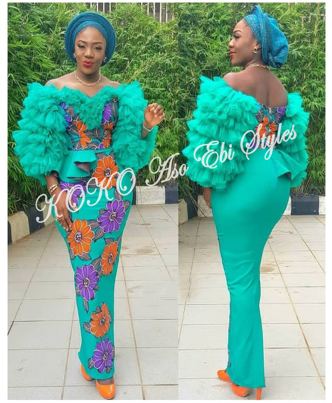 The Hottest And Glamorous Aso-ebi Styles Are Here! These 5 Designs Are  🔥🔥🔥 5